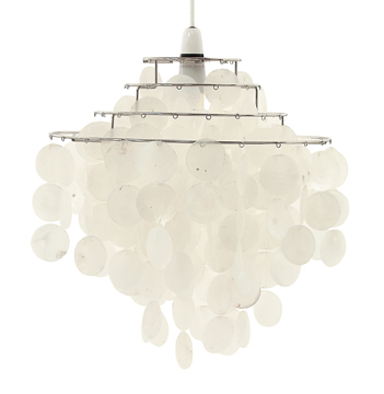 Capiz Pendant Lights Seashell Beauty For Your Home