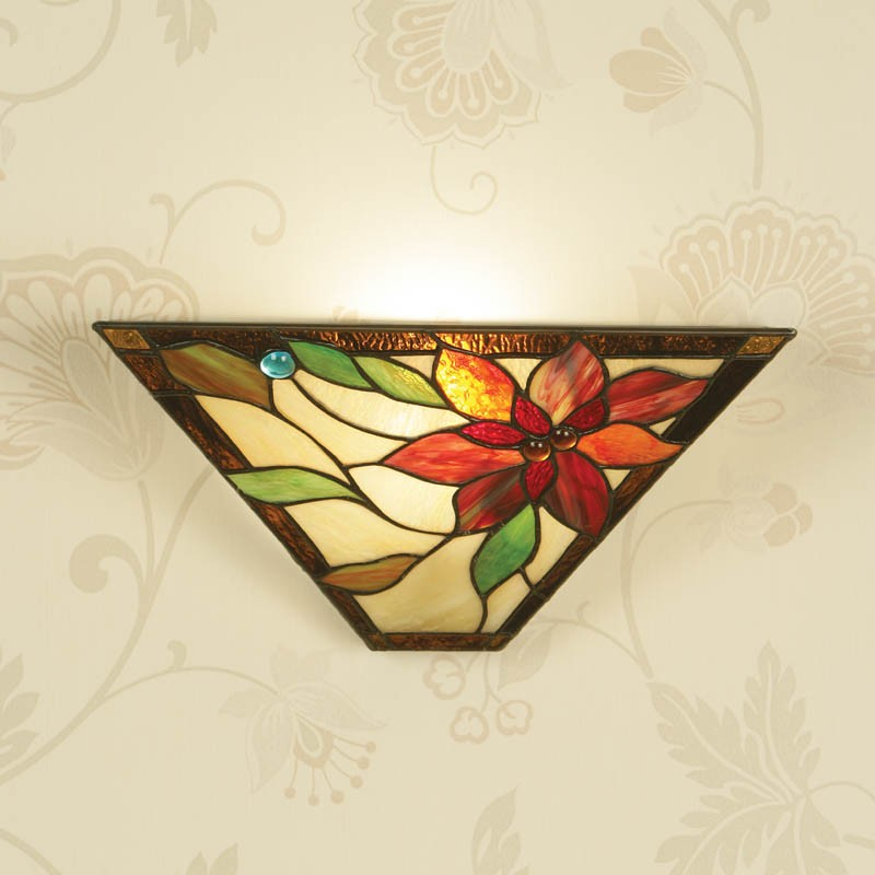 Art Glass Wall Lights: Available From Angelo's In North