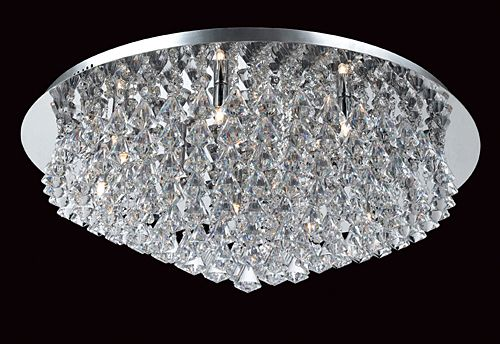 Flush Fitting Crystal Chandeliers London Angelos Lighting – Crystal Lights Chandelier