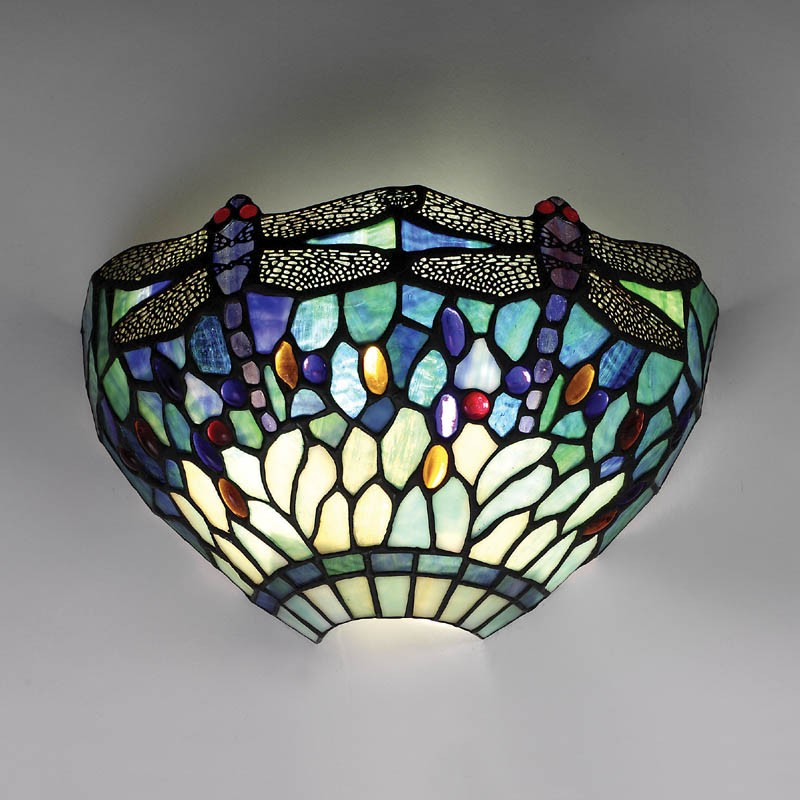 Tiffany Stained Glass : Tiffany lighting london table lamps wall lights